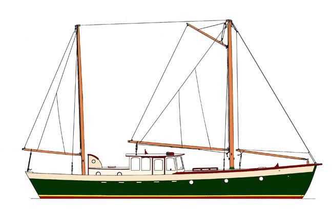 Steel Trawler likewise Bolger Micro Trawler as well Trawler Plans ...