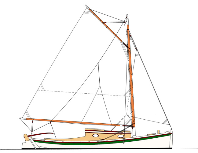 Sailing Sharpie Plans Submited Images